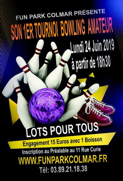 Tournoi de bowling à colmar le 24 juin 2019