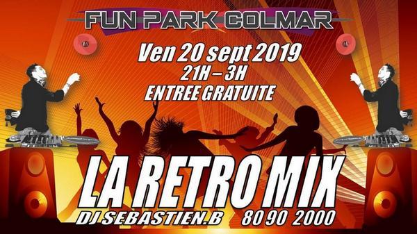 Soirée Disco 20 septembre 2019 au Fun Park Colmar